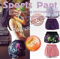 [New arrival] Sports Pant shorts capris Sports wear yoga pants running pants exercise trousers Bottom /shorts /GYM wear tights LADIES bottom girls trousers trunks slacks BRA shirt