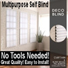 [FillnDeco]100%Made in Korea/Multipurpose Self Blind◆Quick fix◆Colors◆Blackout