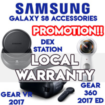Samsung Gear 360 2017 Edition / Dex Station / Gear VR 2017 / S8 accessories