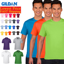 ★☆Authentic GILDAN COTTON T-SHIRT / POLO TEE☆★ Wholesale Price / T-shirt Wholesale! Short Sleeve T-Shirt/ Round Neck Tees/Polo T-shirts/ Tees/ T shirt/ Top/ 100% Cotton/ Unisex/ Men/Anti-Shrink