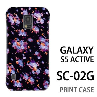 GALAXY S5 Active SC-02G 用『No3 バイオドット』特殊印刷ケース【 galaxy s5 active SC-02G sc02g SC02G galaxys5 ギャラクシー ギャラクシーs5 アクティブ docomo ケース プリント カバー スマホケース スマホカバー】の画像