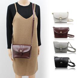 [WPOP] ★★ 韓国ファッション ★★ Ennio ★★「送料無料」 バッグ 鞄 デイリー 紳商 ショルダーバッグ かわい 斜め掛け レディース カバン 使いやすい。これからの季節に◎