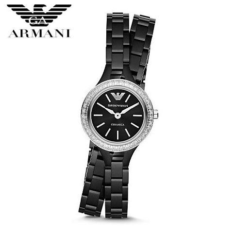 【クリックで詳細表示】EMPORIO ARMANI エンポリオ アルマーニ AR1483 腕時計 レディース メンズ セラミック ユニセックス 新品 超特価 時計 送料無料 正規輸入品
