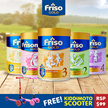 FRISO Gold Stage 2-4 (900g and 1.8kg) / Friso Gold Cereal / Frisomum Gold (300g and 900g)