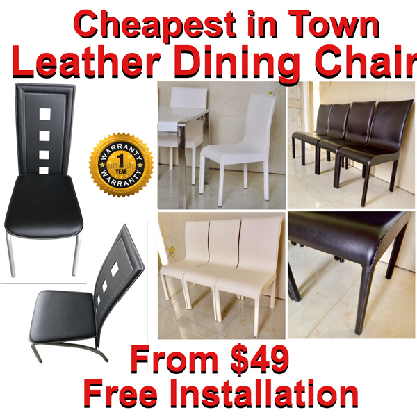 Dining Chair / Furniture / Living Home / Household Product / Dining Table / Dining Set Deals for only S$80 instead of S$0
