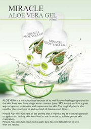 Miracle Aloe Vera Gel - Relieve Moisturize Wound 芦荟大王 500m