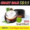CRAZY SALE ★MIZON No.1★SNAIL REPAIR EYE CREAM 25ml / Wrinkle care / Snail Extract / Whitening