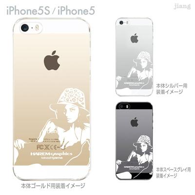【iPhone5S】【iPhone5】【HAREM graphics】【iPhone5sケース】【カバー】【スマホケース】【クリアケース】 hgx-ip5s-026の画像