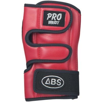 ABS(アメリカン ボウリング サービス) プロリスト レッド RD 【ボウリンググローブ リスタイ サポーター ボーリング】の画像