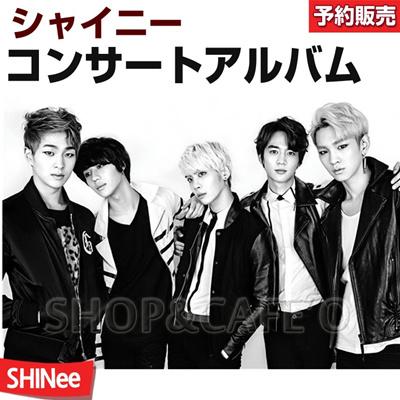 【2次予約/送料無料】SHINEE(シャイニー) コンサートアルバム (2CD)の画像
