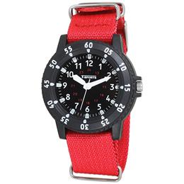 クレファー CREPHA  デジタル腕時計 T-SPORTS レッド TS-A051-RD【スポーツ ファッション キッズ ウォッチ】