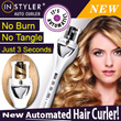 85% OFF Today only! **2015 New Instyler** Another POPULAR Product AFter Babyliss -  InStyler Tulip Auto Hair Curler hair curling ceramic !! HOT ITEM!! No Burn/ No Tangler/ Just 3 seconds. White Color