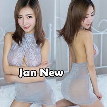 Jan New ♥Lace Dress Sleepwear Corsets Nightie♥Sexy Lingerie♥Gift Couple Sweet Seductive♥Teddy