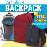 [NEW hot ITEM] ALL about BACKPACK ! FREE shipping JABODETABEK !