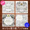 【送料無料】親子で楽しめる塗り絵ブック 人気の4種限定版!/ 「秘密の花園 Secret Garden 」/ 「魔法の森 Enchanted Forest 」/ 「神秘の深海 Lost Ocean」/ 「動物達の王国 Animal Kingdom」 英語版 / Johanna Basford/Secret Garden: An Inky Treasure Hunt and Color
