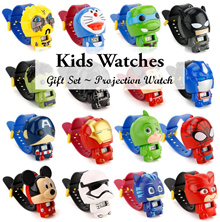 💖 Kids Projection Watch  💖 PONY FROZEN SUPERHERO Party Goodie Bag Birthday Gifts 💖