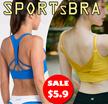 【BIG SALE 9.18-9.21】SPORTS BRA Gym Running Bra Premium Ladies Wireless bra/yoga bra/sleeping