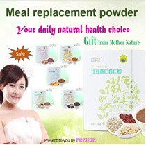 Meal replacement powder/Slimming drink/red bean/purple potato/black sesame seed/barley/black bean/kudzu root/papaya/fruit and veget enzyme/detox powder/Healthy natural grain/代餐粉
