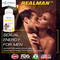 {GSS Deals} Nutra Botanics™ REALMAN™ ♥Sexual Enhancement♥ Erectile Dysfunction♥ Male Supplement♥ Tongkat Ali♥ Penis Enlargement♥ Adult Sex Toys ♥Erection ♥Men Health Strength Vitality♥ Prolong Sex♥