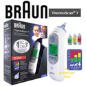 【Braun】ThermoScan 7 IRT6520 Ear Thermometer FREE Qxpress Delivery / Same Day Home Delivery Available / Local SG Seller
