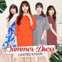 SPECIAL PRICE !! NEW_TRENDING NOW WOMEN SHIRTDRESS / PLAYSUIT / PINTUCKED DRESS