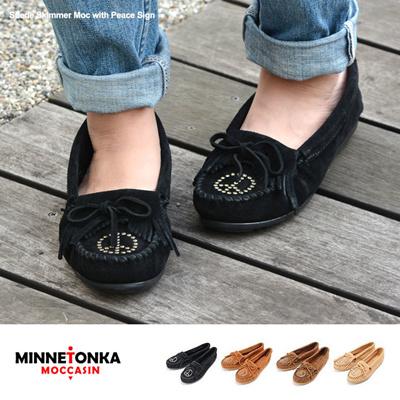 ミネトンカ Minnetonka ミネトンカ ブーツ モカシン スエード Minnetonkaの画像