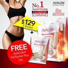 FREE 10 CAPS! $129 for 2! Award Winning Safe Slimming Avalon Fat Burner Plus 5x stronger