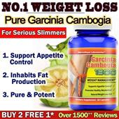[Buy 2 Free 1*] Garcinia Cambogia 1300 HCA 60% Slimming Pills Weight Loss Made in USA Veggie capsule