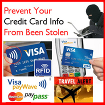 !!* Protect your Credit Card Info * Premium RFID Card Holder Sleeves Anti Scan Travel Lock Wallet