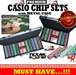 300/500 Casino chips * Poker Sets * Texas Poker Holdem Playing Chips * Texas Poker* High Quality Chips and Metal Case * Ideal for Chinese New Year!