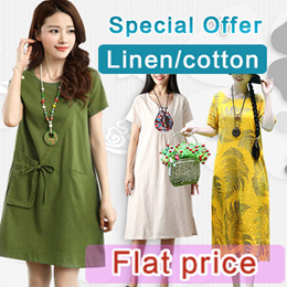 ★Price Down For Super Sale★Real Flat Price!!【Buy 3 Free Shipping】2019 new arrival cotton and linen s