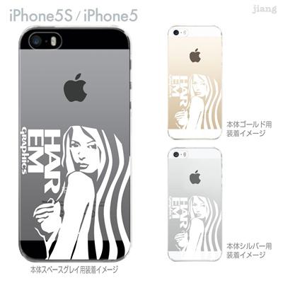 【iPhone5S】【iPhone5】【HAREM graphics】【iPhone5sケース】【カバー】【スマホケース】【クリアケース】 hgx-ip5s-029の画像