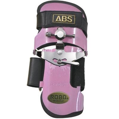 ABS(アメリカン ボウリング サービス) ロボリスト ショートモデル パールピンク PP 【ボウリンググローブ リスタイ サポーター ボーリング】の画像