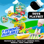 Toys - Pretend Play Role Play Cooking Toys Medical Pets Food Toys