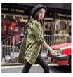 2016 韓国ファッション レディース送料無料 国内発送 秋コート着痩せ 大きいサイズ ファッション ナチュラルジャケット アウター コート レディース ブランド