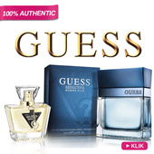 Parfum Original GUESS for Man and Woman *100% Authentic Guess Fragrance Collection