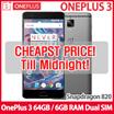 [LAST 1DAY DEAL!!] OnePlus 3 Dual-SIM OnePlus 3 64GB / 6GB RAM Dual SIM LTE (Unlocked 64GB Graphite Grey) / XIAOMI