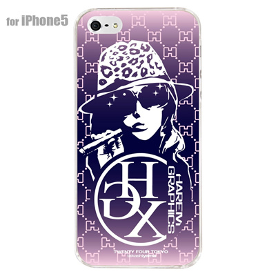 【iPhone5S】【iPhone5】【HAREM graphics】【iPhone5ケース】【カバー】【スマホケース】【クリアケース】 HGX-IP5C-005Eの画像