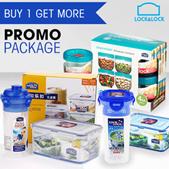 LOCK N LOCK Promo Package - FREE Shipping Jabodetabek Area