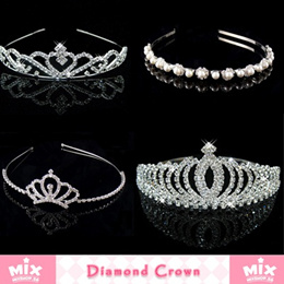 「mixshop.sg」★ Diamond Headband ★ Diamond Crown / High Quality / Fast Delivery /