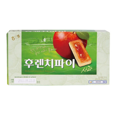 『ヘテ』フレンチパイ・りんご味(192g)br[韓国お菓子][韓国食品]の画像