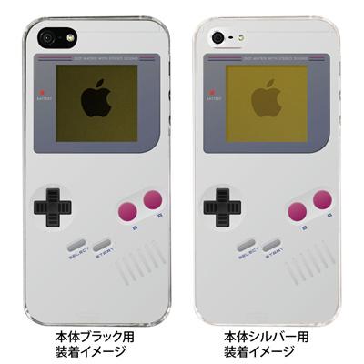 【iPhone5S】【iPhone5】【Clear Arts】【iPhone5ケース】【スマホケース】【クリア カバー】【クリアケース】【ハードケース】【着せ替え】【イラスト】【懐かしのゲーム機】【ゲームボーイ】 08-ip5-ca0075の画像