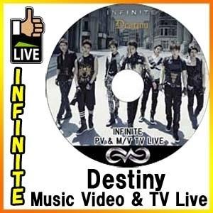◆K-POP DVD◆INFINITE インフィニット 2013 DESTINY PV amp  TV LIVE DVD / ソンギュ ドンウ ウヒョン ホヤ ソンヨル エル ソンジョンの画像