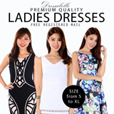 【JULY NEW UPDATE】 70% OFF/ New arrivals women's dress/ Premium quality girls' one-piece/Working or evening gown/skirts –S to XL