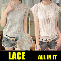 【NEW ARRIVAL】2017 NEW  HIGH QUALITY LACE BLOUSE TOP