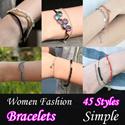 [HowDY]♡ Bracelets - Fashion ♡ Simple Bracelet / Fashion Leader