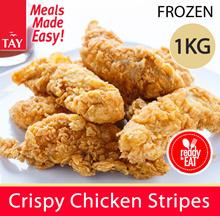 Crispy Chicken Strip 1kg (28g/pc)