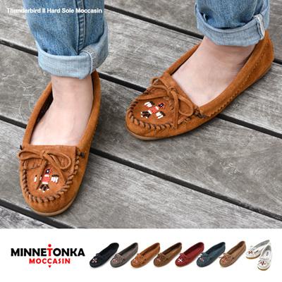 ミネトンカ Minnetonka ミネトンカ モカシン サンダーバード2 ハードソール Minnetonka くつ 靴 シューズ ブランド ぺたんこ かわいい 可愛い 通販の画像