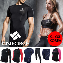 Korean Fashion[Buy 2 Get 1 Free gift] Super Sale! KOREA compression wear YOGA rashguard Fitness swimwear