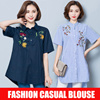 2017  New arrival Fashion Loose Casual Shirt/Work shirt/blouse